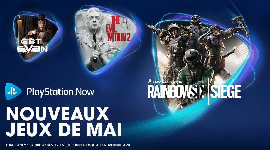 PlayStation Now - Mai 2020