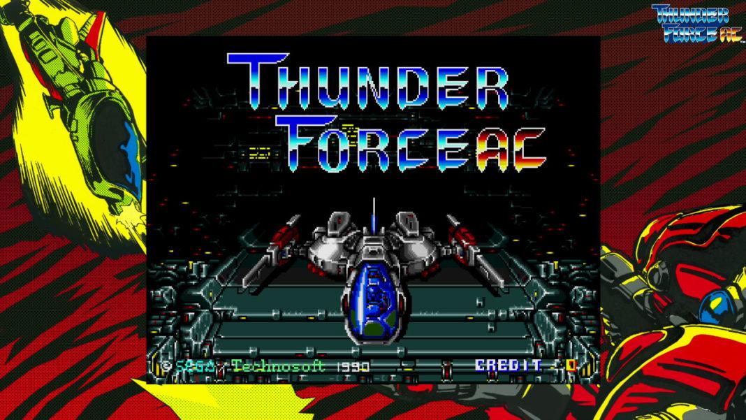 SEGA AGES - Thunder Force AC