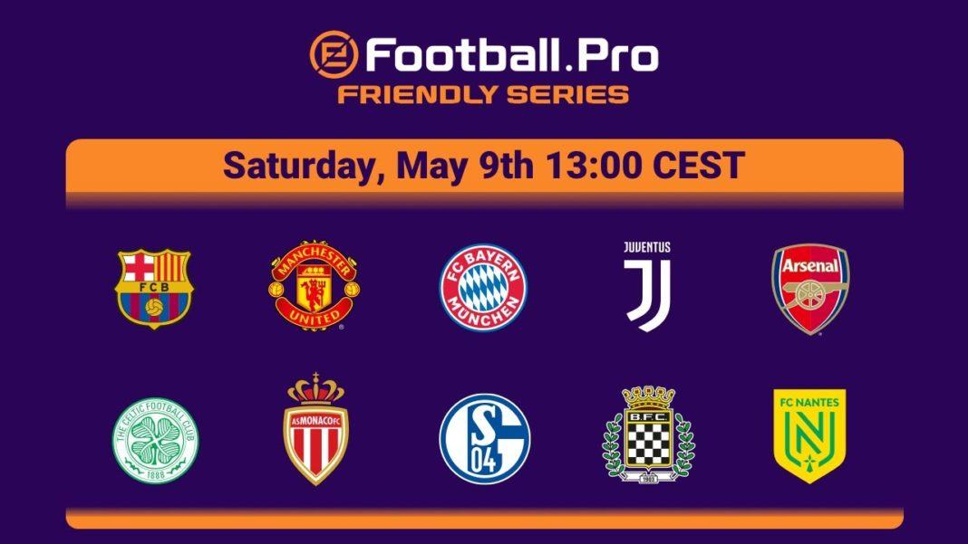 eFootball.Pro Friendly Series Bracket_CEST