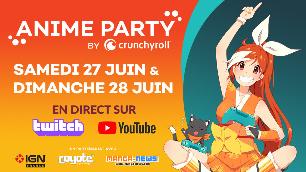 Anime Party by Crunchyroll