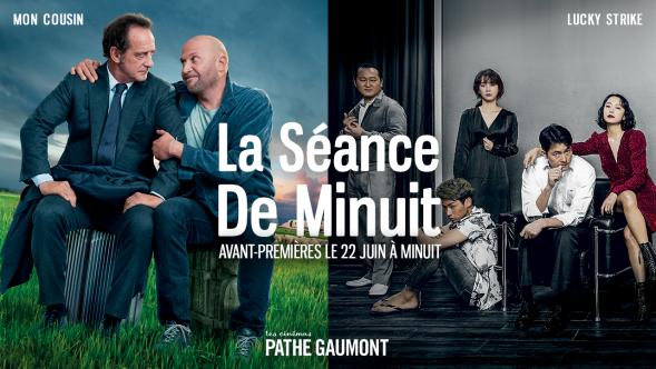 Les Cinémas Pathé Gaumont lancent #LaSeanceDeMinuit