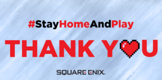 Square Enix Stay Home & Play