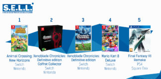 Top Ventes Jeux Video Sem 22 2020