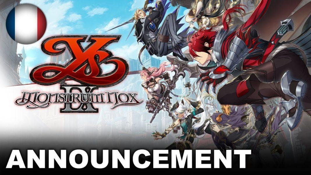Ys IX: Monstrum Nox 01