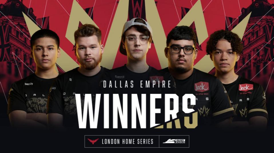Call Of Duty League dallas empire winner