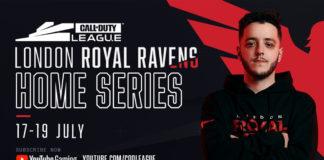 Call of Duty League LONDON ROYAL RAVENS