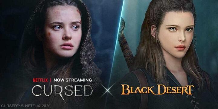 Cursed X Black Desert