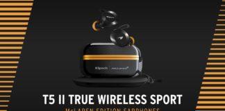 Klipsch T5 True Wireless Sport McLaren Racing