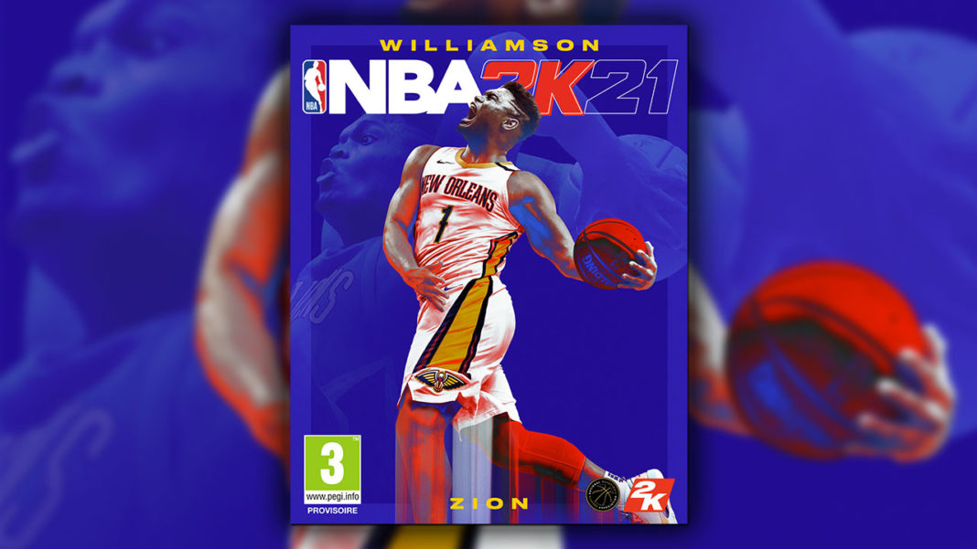 NBA 2K21 Zion Williamson