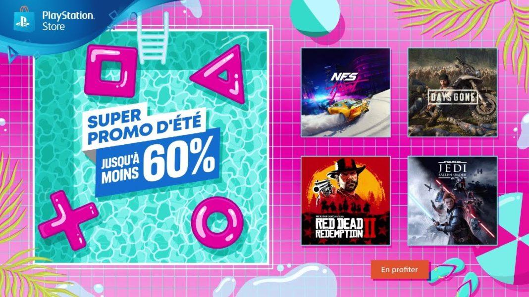 PlayStation Super Promo d'été 2020