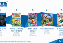 TOP Ventes Jeux Video sem 27 2020