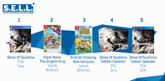 TOP Ventes Jeux Video sem 29 2020