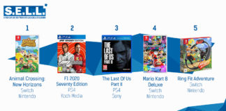 TOP Ventes Jeux Video sem28 2020