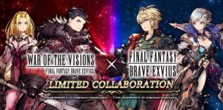WAR OF THE VISIONS™ FINAL FANTASY® BRAVE EXVIUS® et FINAL FANTASY BRAVE EXVIUS_Collaboration