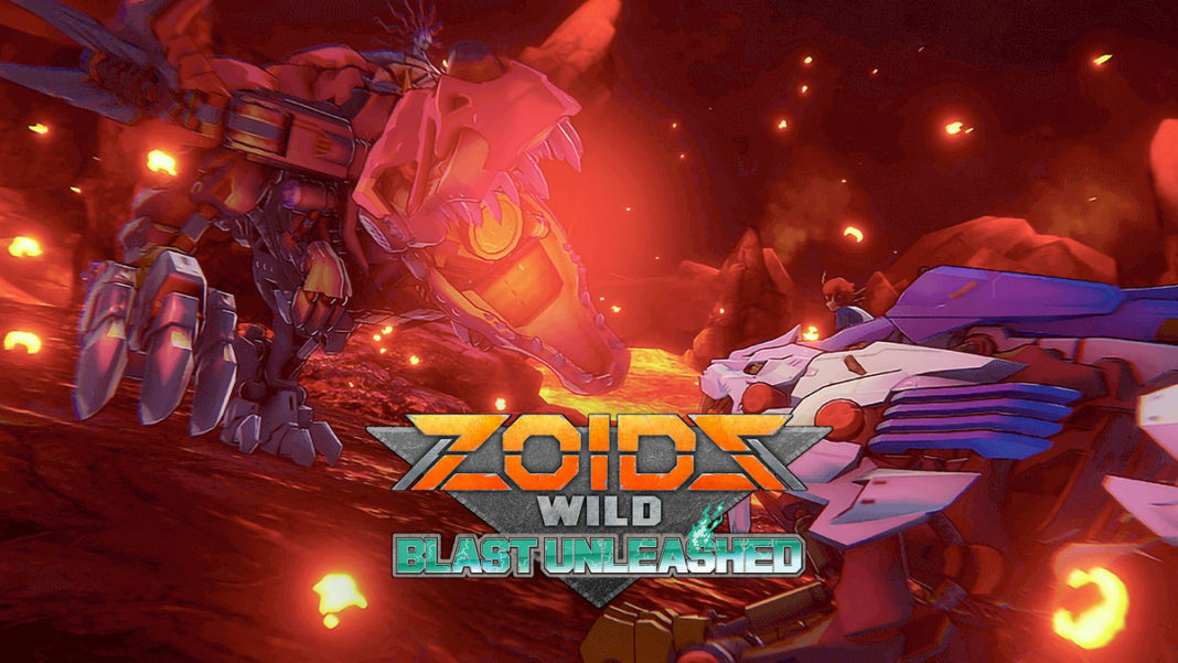 Zoids Wild : Blast Unleashed
