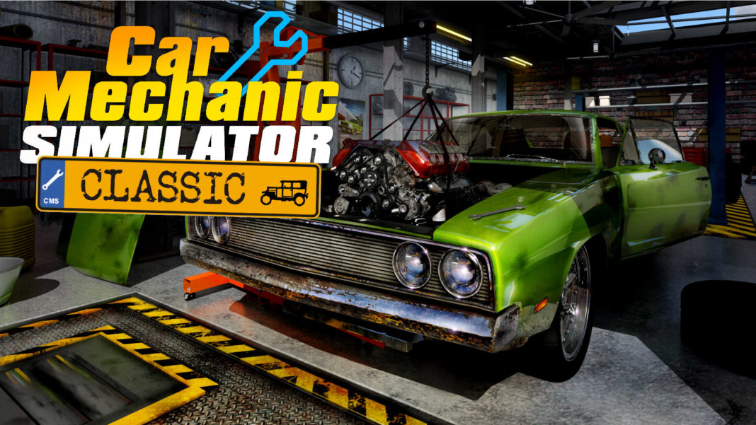 Car Mechanic Simulator Classic 01 (press material)