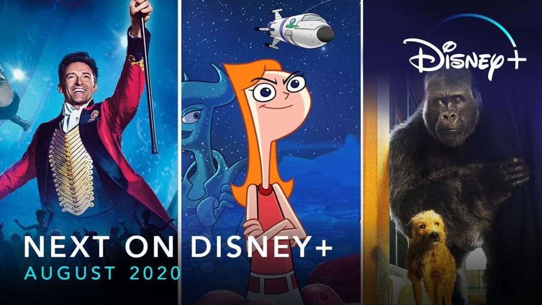 Disney Plus USA August 2020