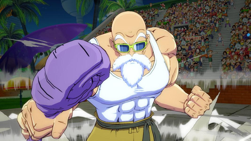 Dragon Ball Z FighterZ Master Roshi