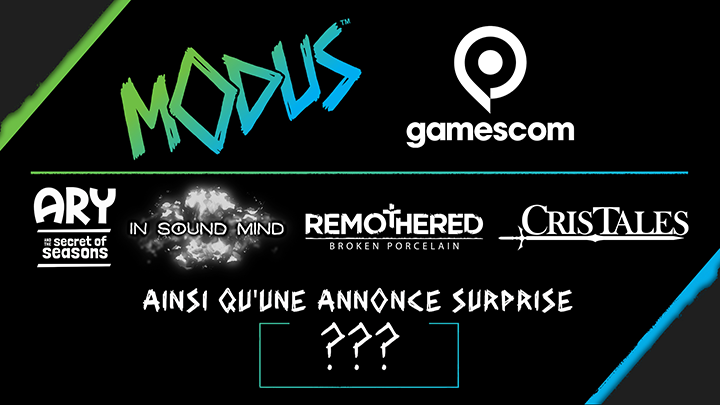 Gamescom 2020 - Modus Games