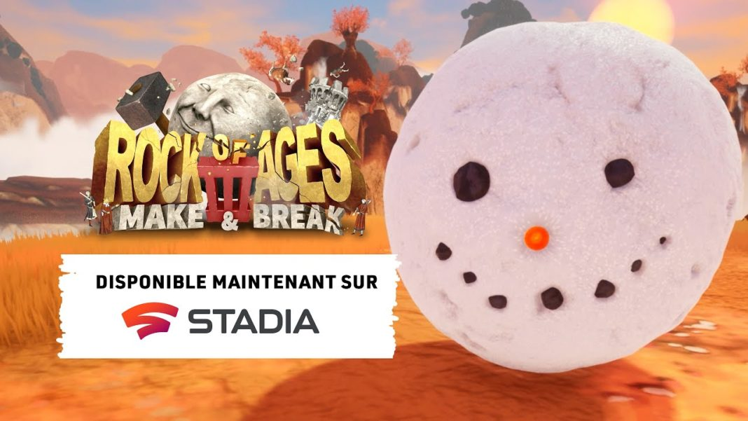 Rock of Ages 3 : Make & Break