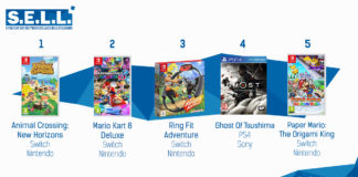 TOP Ventes Jeux Video sem 33 2020