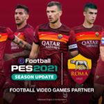 eFootball PES 2021 SEASON UPDATE X AS Roma