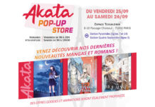 Akata pop-up store