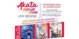 Akata pop-up store