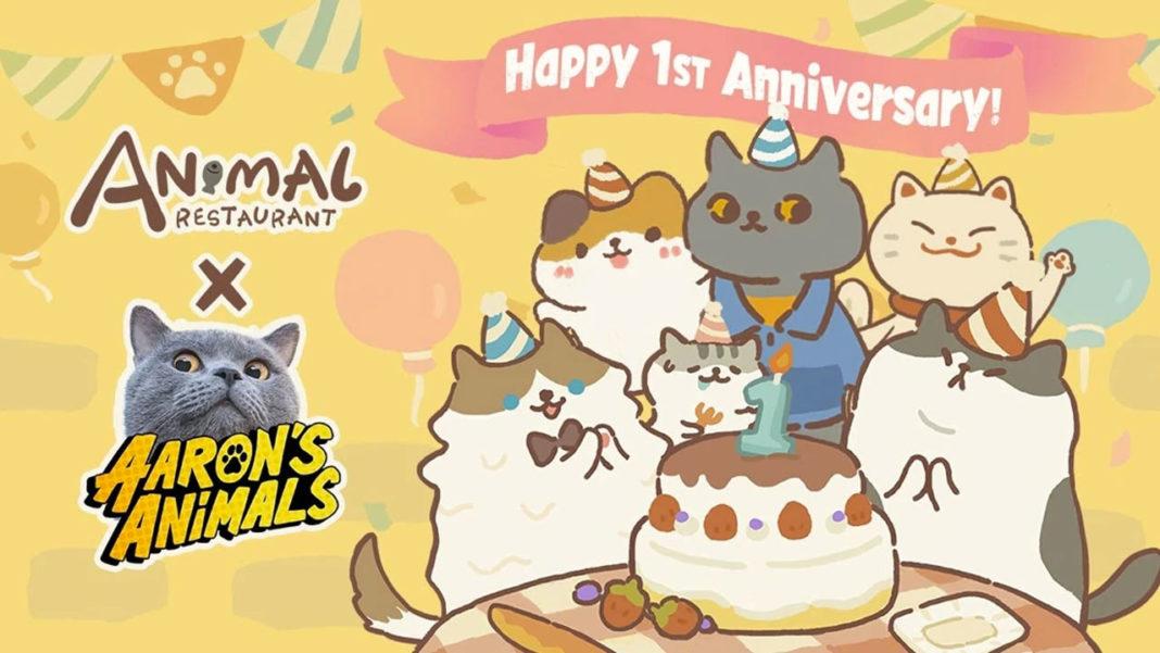 Animal Restaurant X Aaron's Animals