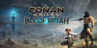 Conan Exiles : Isle of Siptah Keyart