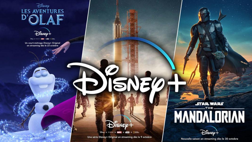 Disney+ Disney Plus Octobre 2020