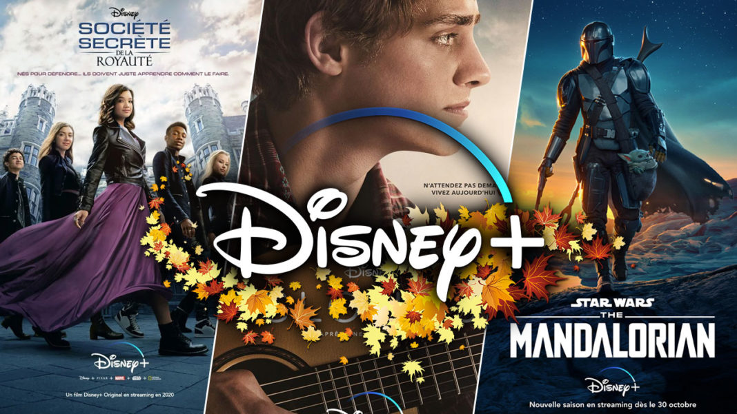Disney+ Disney Plus Automne 2020