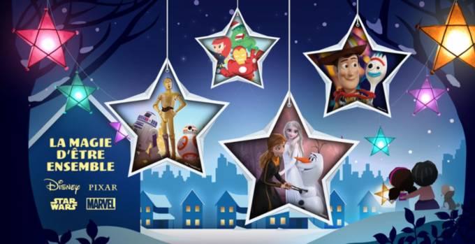 Disney Marvel Star Wars Pixar Noel 2020