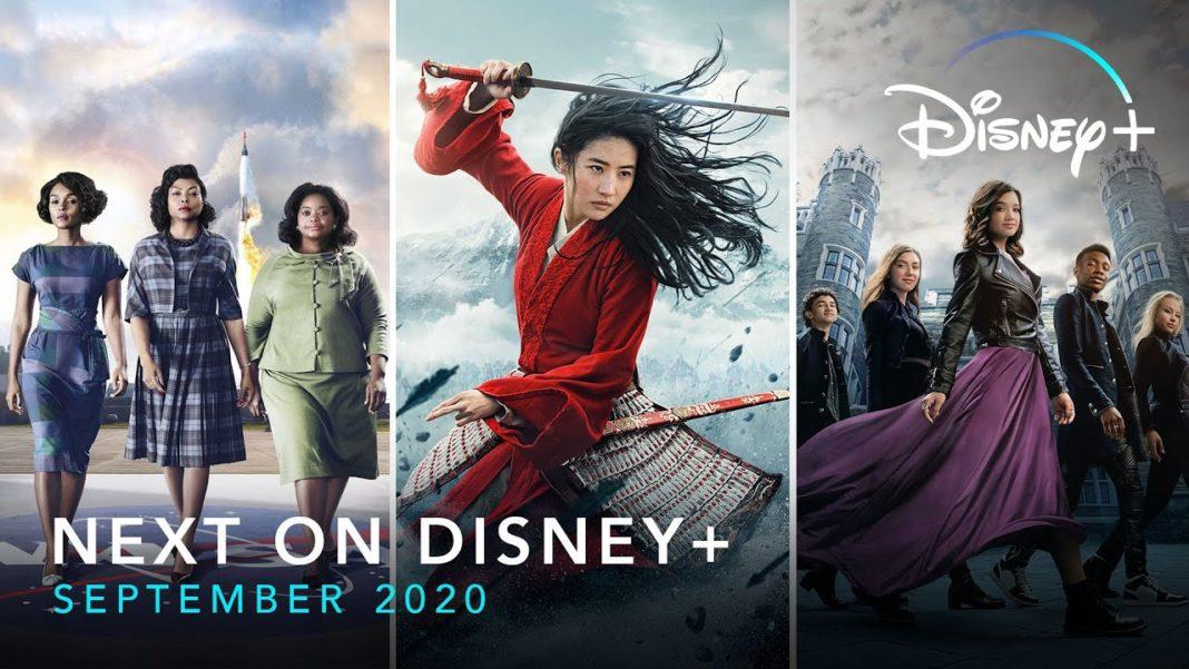 Disney Plus September 2020