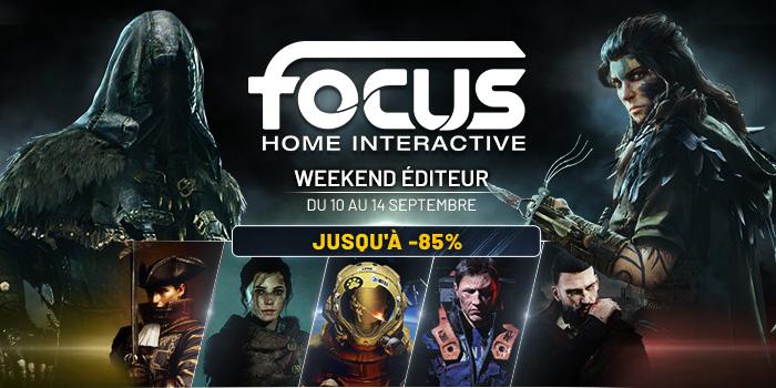 Focus Home Interactive : Weekend Éditeur sur Steam