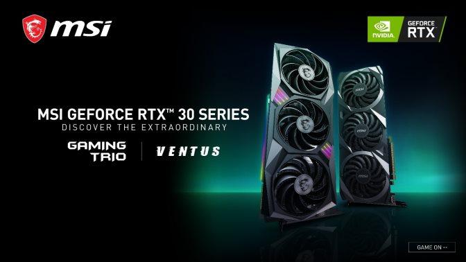 MSI NVIDIA GeForce RTX Série 30 01