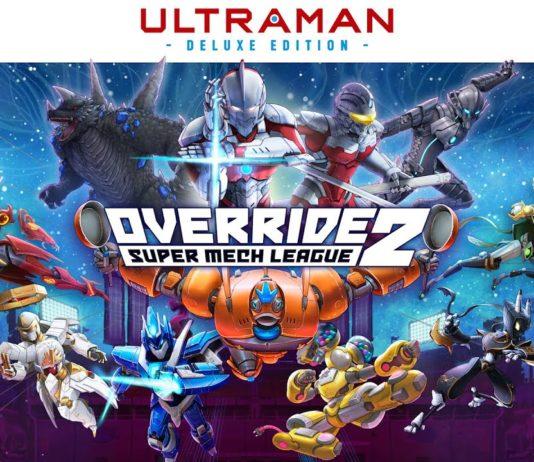 Override 2: Super Mech League – ULTRAMAN Deluxe Edition