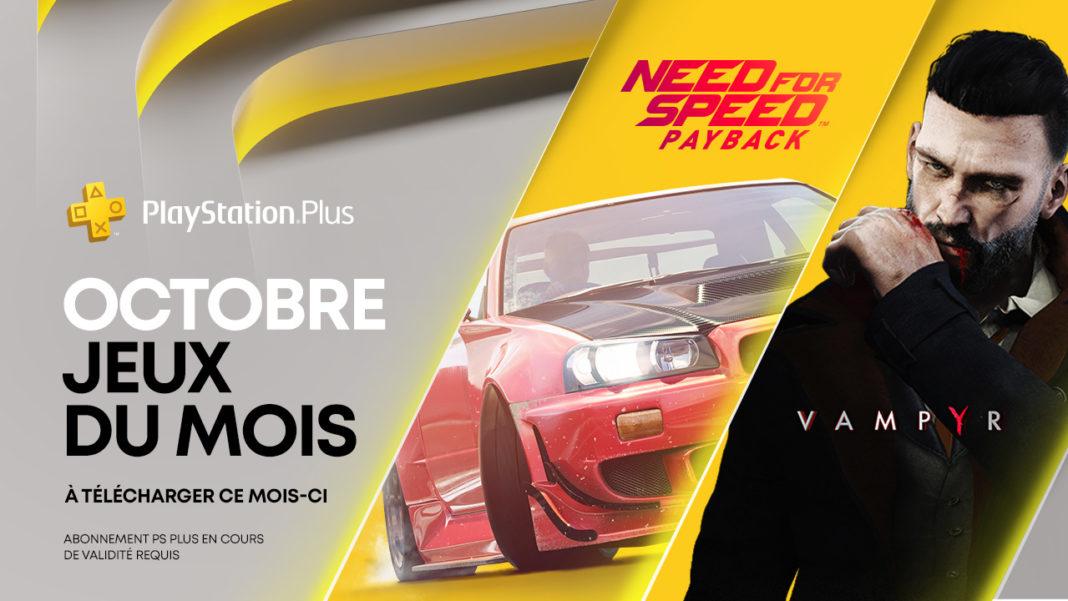 PlayStation Plus - Octobre 2020