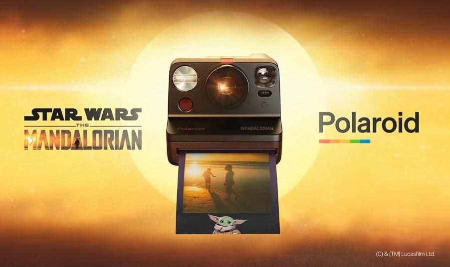 Polaroid X The Mandalorian