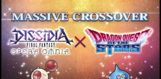 DISSIDIA FINAL FANTASY OPERA OMNIA × DRAGON QUEST OF THE STARS Crossover
