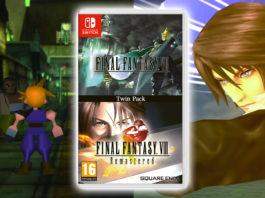 Final Fantasy VII & Final Fantasy VIII Nintendo Switch