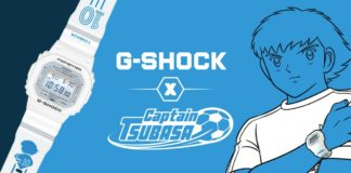 G-SHOCK X CAPTAIN TSUBASA 01