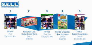 TOP Ventes Jeux Video sem 42