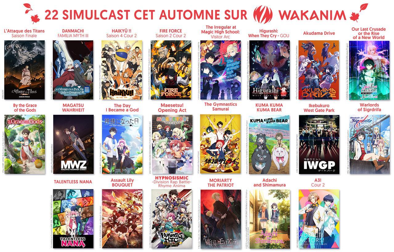 Wakanim Anime Liste