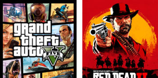 Grand Theft Auto V - Red Dead Redemption 2 - 11 6 2020