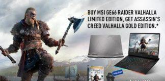 MSI GE66 Raider Assassin's Creed Valhalla