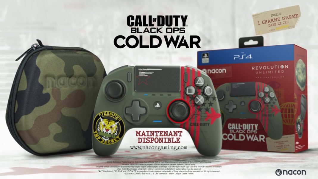 Nacon REVOLUTION Unlimited Call of Duty- Black Ops Cold War