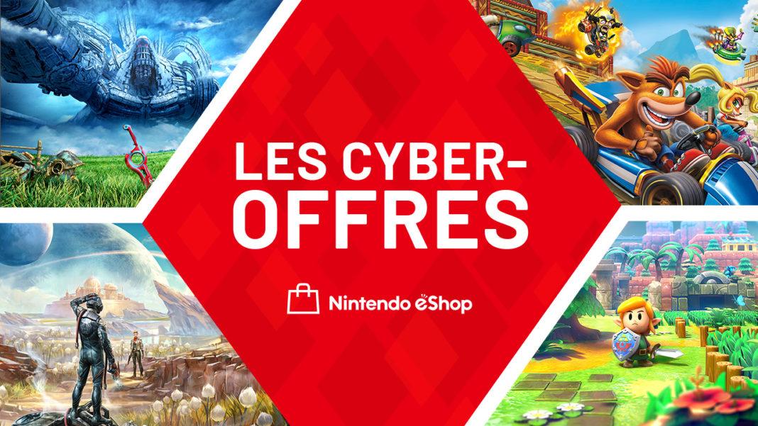 Nintendo eShop Cyber Offres