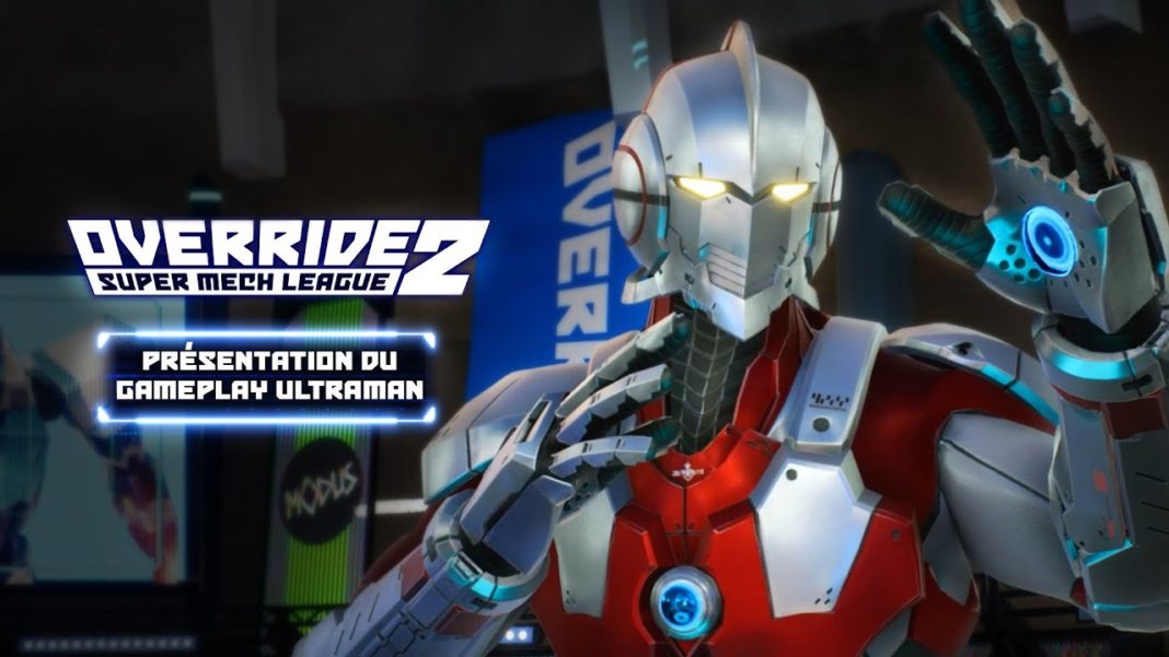 Override 2 - Super Mech League – Ultraman