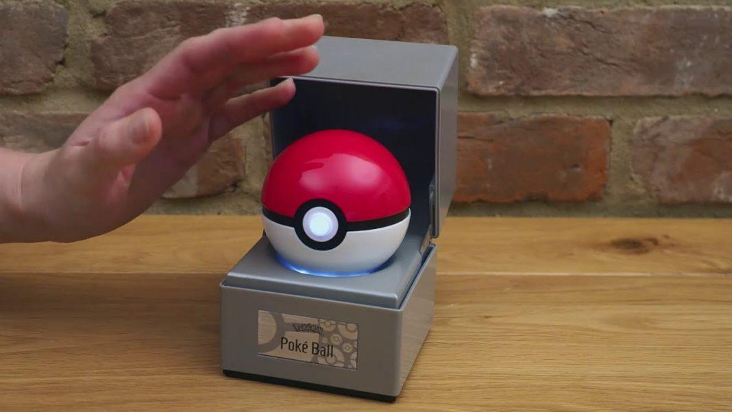 Poké Ball replica from The Wand Company